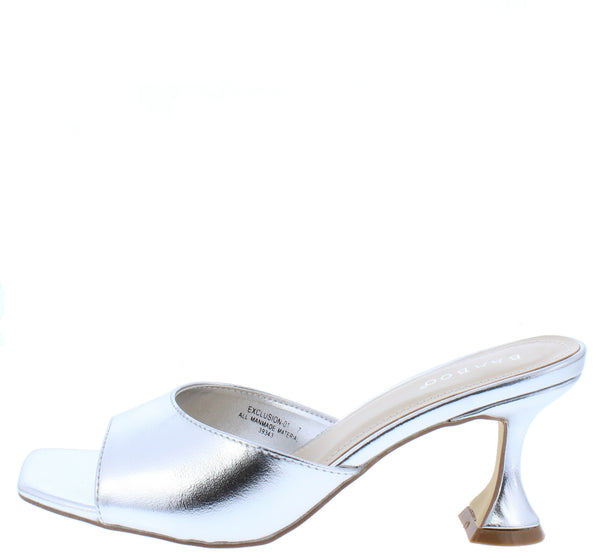Exclusion01 Silver Women's Heel - Wholesale Fashion Shoes
