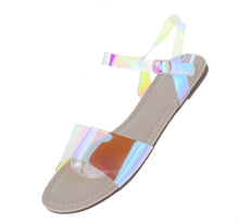 Load image into Gallery viewer, Tiana150 Nude Women's Sandal - Wholesale Fashion Shoes