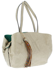 Load image into Gallery viewer, Jacqueline200 Light Grey Women's Handbag
