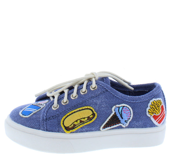Karen181 Blue Kids Flat - Wholesale Fashion Shoes