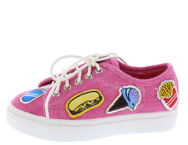 Karen181 Pink Kids Flat - Wholesale Fashion Shoes