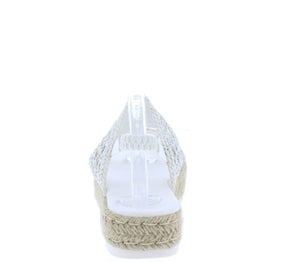 Karli35 White Women's Sandal - Wholesale Fashion Shoes