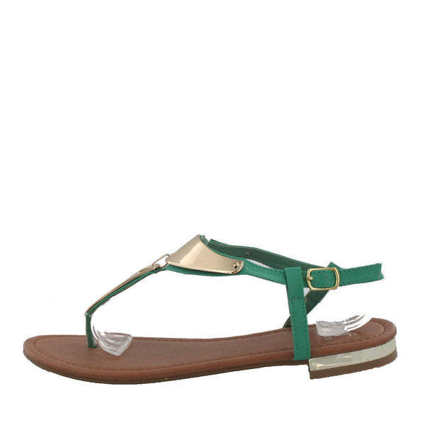 Laura4 Mint Fashion Sandals