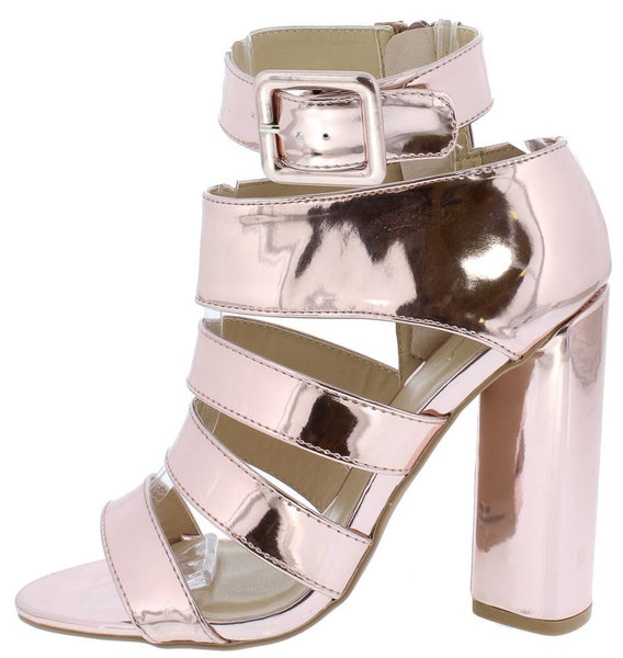 Lyra25 Rose Pink Patent Open Toe Multi Strap Block Heel - Wholesale Fashion Shoes ?id=3668998094913