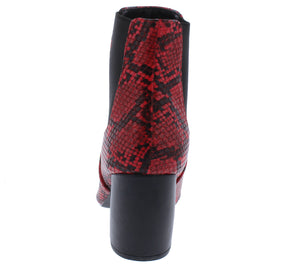 Milkway07a Red Black Snake Pu Women's Boot - Wholesale Fashion Shoes ?id=18091885199404