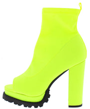 Load image into Gallery viewer, Naomi235 Yellow Women's Boot - Wholesale Fashion Shoes ?id=17135894134828