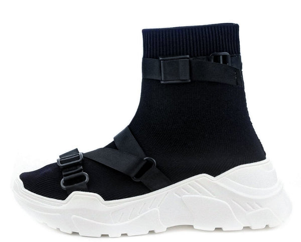 Off Black Black Women's Boot - Wholesale Fashion Shoes