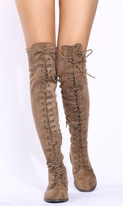 Oksana308w Taupe Suede Women's Boot - Wholesale Fashion Shoes ?id=17960525955116