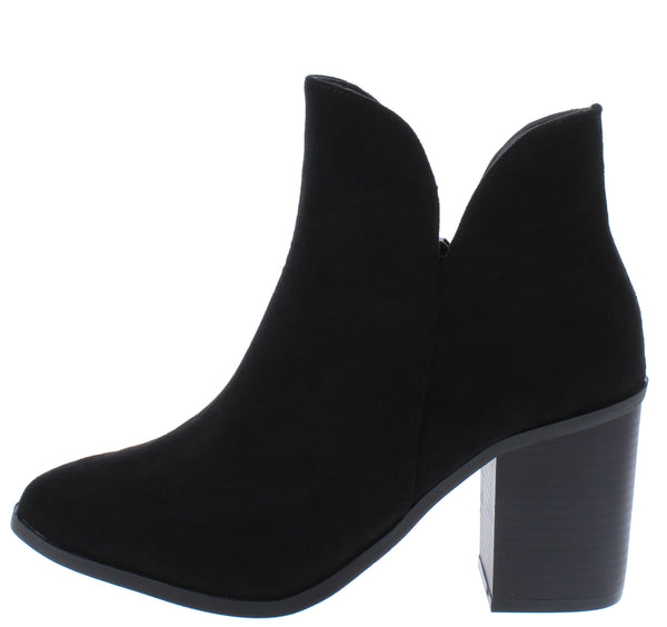 Blanca295 Black Women's Boot - Wholesale Fashion Shoes