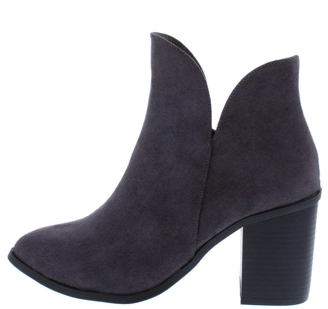 Blanca295 Charcoal Women's Boot - Wholesale Fashion Shoes ?id=17400219009068