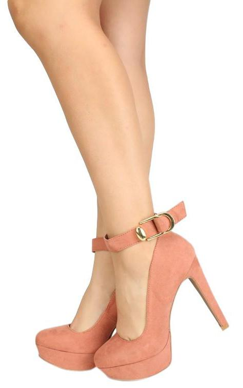 Pitri03 Dusty Blush Suede Pu Woman's Heel - Wholesale Fashion Shoes ?id=6255329411137