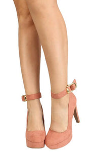 Pitri03 Dusty Blush Suede Pu Woman's Heel - Wholesale Fashion Shoes ?id=6255329476673