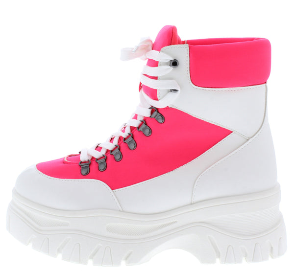 Pops13 White Multi Women's Boot - Wholesale Fashion Shoes ?id=17064584413228