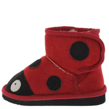 Load image into Gallery viewer, Rossi2 Red Infant Velcro Ladybug Boot