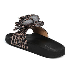 Load image into Gallery viewer, Sandy05 Leopard Rose Slide on Sandal - Wholesale Fashion Shoes ?id=1034023632909