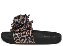 Load image into Gallery viewer, Sandy05 Leopard Rose Slide on Sandal - Wholesale Fashion Shoes ?id=1034023862285