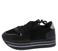 Load image into Gallery viewer, Sponge01 Black Women's Flat