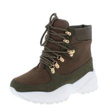 Load image into Gallery viewer, Sucker Punch Khaki Women's Boot - Wholesale Fashion Shoes ?id=17400213897260
