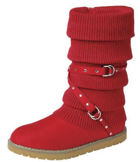 Warm60 Red Women's Boot - Wholesale Fashion Shoes
