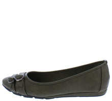 Load image into Gallery viewer, Serious01w Olive Women's Wide Width Comfort Flat - Wholesale Fashion Shoes ?id=18158709571628