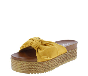W3002 Yellow Women's Sandal - Wholesale Fashion Shoes