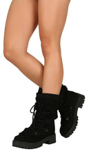 Load image into Gallery viewer, Wildone40 Black Women's Boot - Wholesale Fashion Shoes