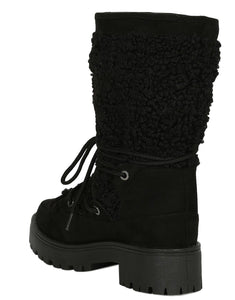 Wildone40 Black Women's Boot - Wholesale Fashion Shoes
