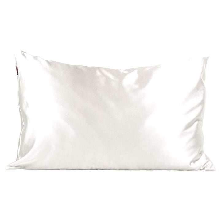 Kitsch Satin Standard Pillowcase - Ivory