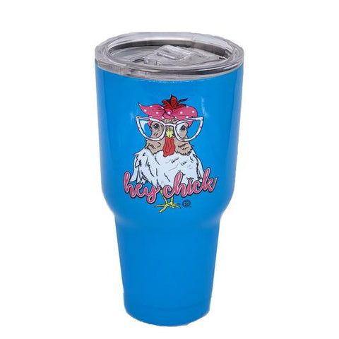 Hey Chick Stainless Steel Tumbler