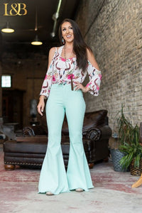 Mint Bell Bottoms
