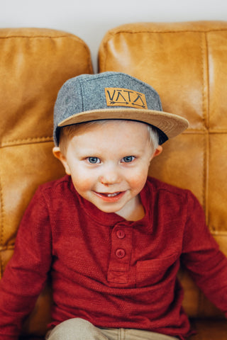 Kids Lima Five Panel Hat