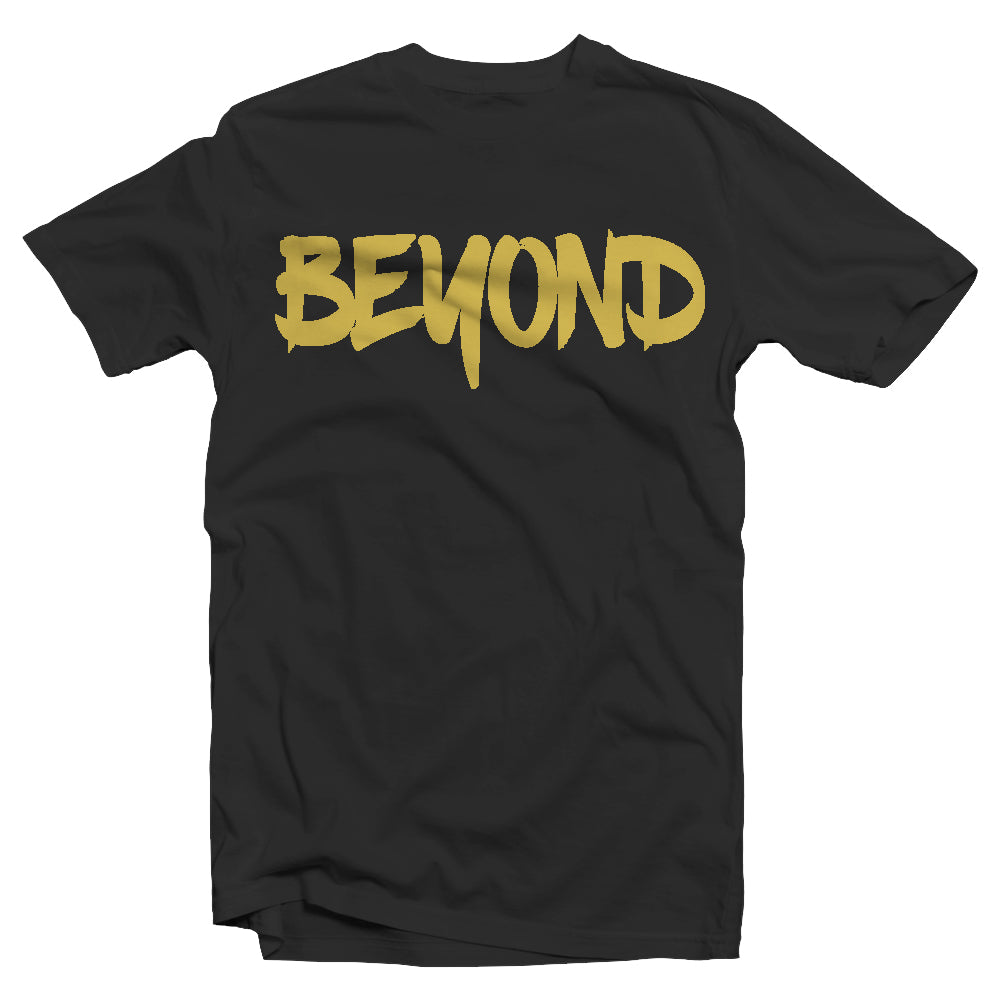 Black and Gold Short Sleeve Tee