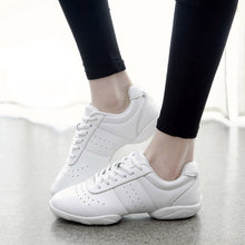 Needs 2 Dance | Women White Jazz Dance Sneakers