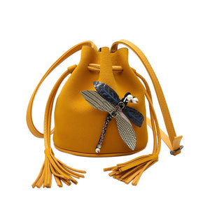 Women's Bucket  Shoulder Bag