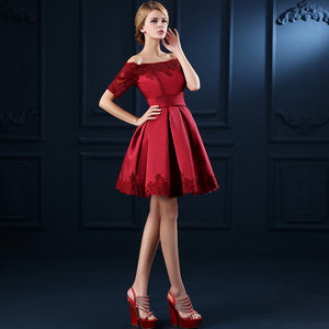 Women Evening Party Knee Length Cocktail Dresses