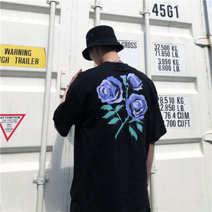 Purple Rose Tee