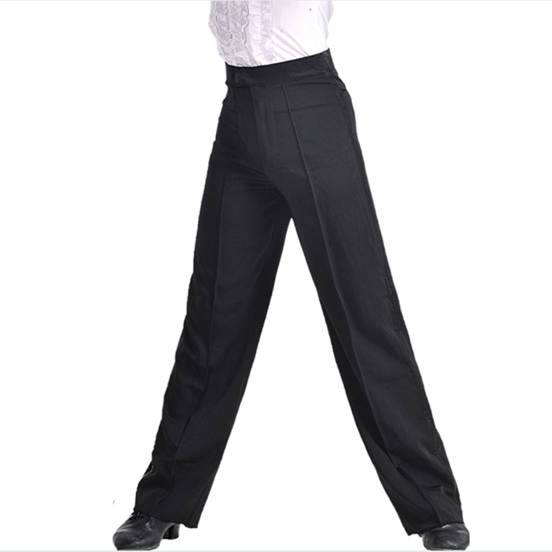 Men's & Boy's  Black Dance Pants w/ Side  Lining