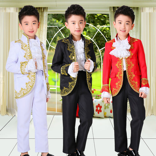 Boys Court Performance  Costume