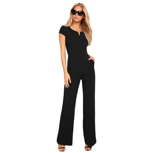 Women's Wide Leg Jumpsuit