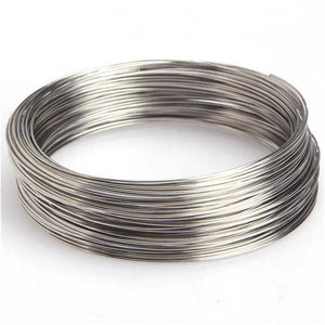 Loops Round Memory Steel Wire For Charm Cuff Bangle Bracelet