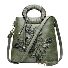 Big Shell Floral Vintage Hand Bag