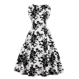 New 50s 60s Vintage Dress Rockabilly for Swing Party