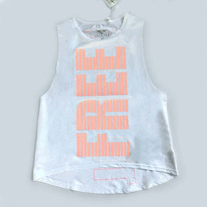 Women's Letter  Printed Breathable Yoga Tank Top