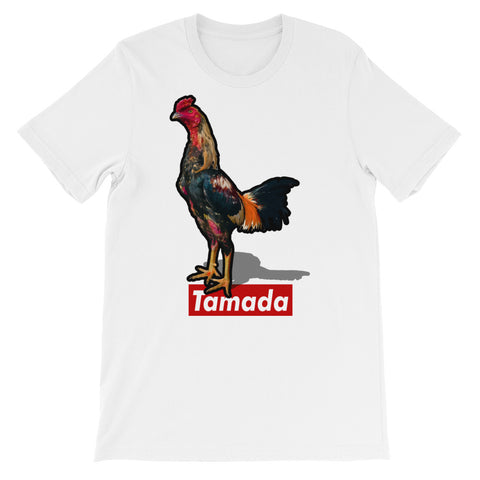 Tamada White Rooster Tee