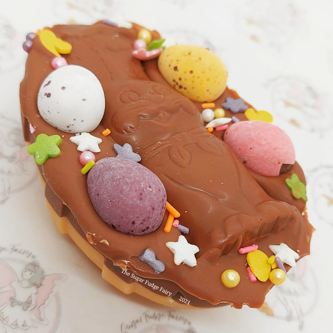 Easter Fudge Fairy Egg - Chocolate Orange Bunny