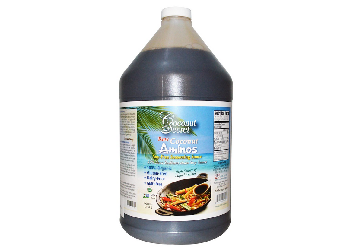 Coconut Aminos, Coconut Secret