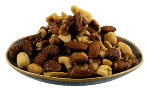 Mixed Nuts, Roasted, Salted, From the Fields'