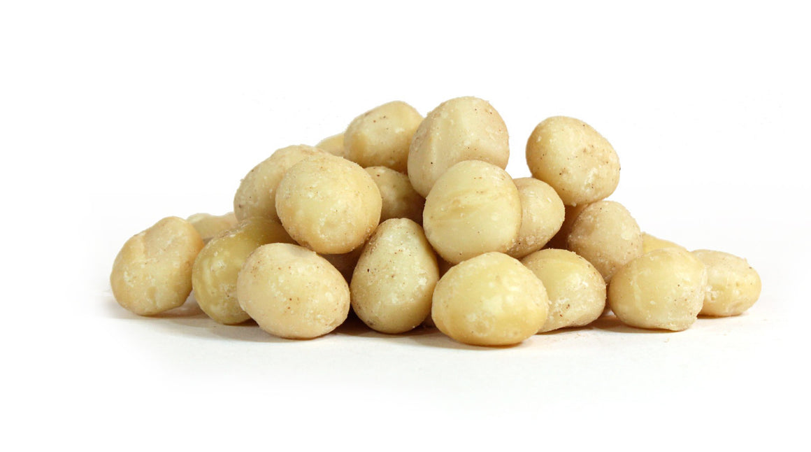 Macadamia Nuts, Whole, Raw & Unsalted