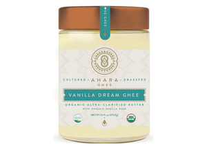 Ghee, Cultured, Vanilla Dream, Ahara Rasa