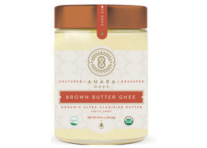Ghee, Cultured, Brown Butter, Ahara Rasa